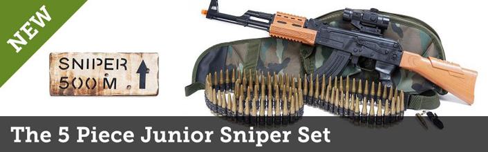 The 5 piece Junior sniper set