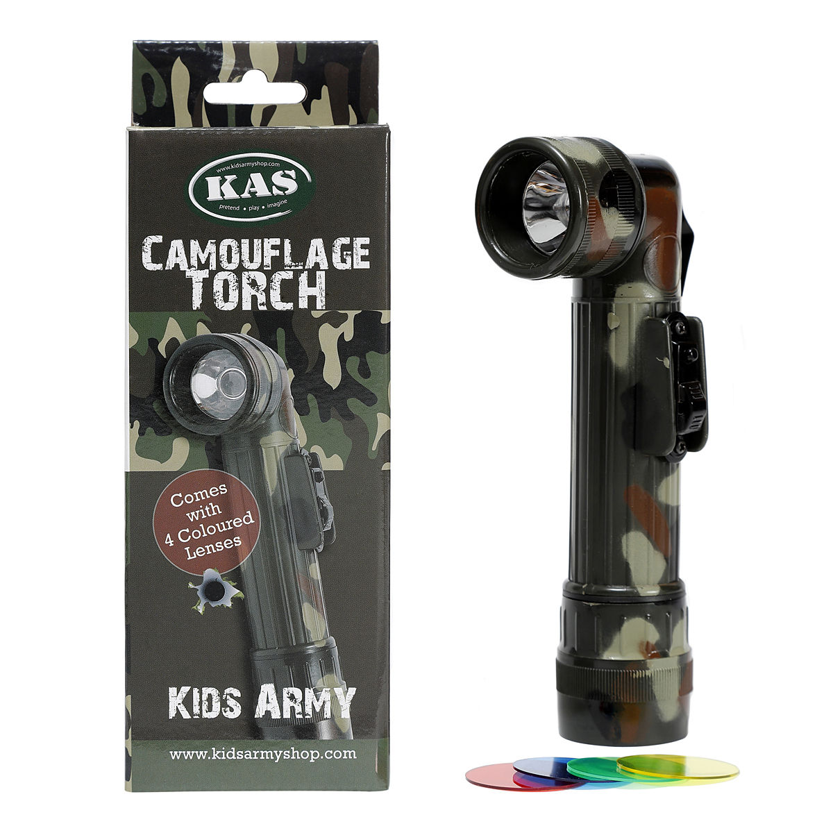 Camouflage Torch