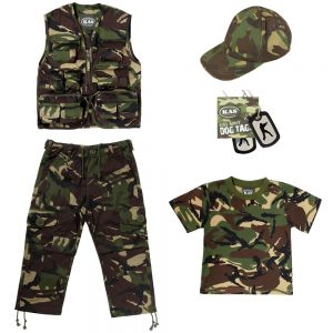 Kids Camouflage Army Kit