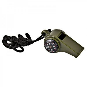 Army Style 3 In 1 Whistle