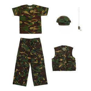 Camo Army Kit + Cap