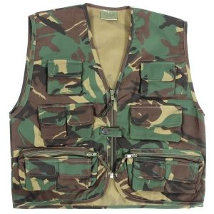 Army Camouflage Action Vest