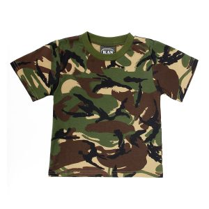 Kids Army Camouflage T-Shirt