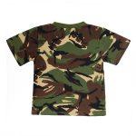 Kids Camouflage T Shirt