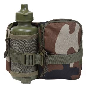 Camouflage Waist Bag & Bottle