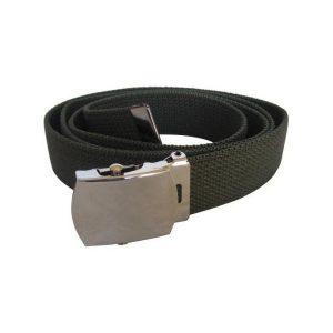 Army Green 1″ Webbing Belt