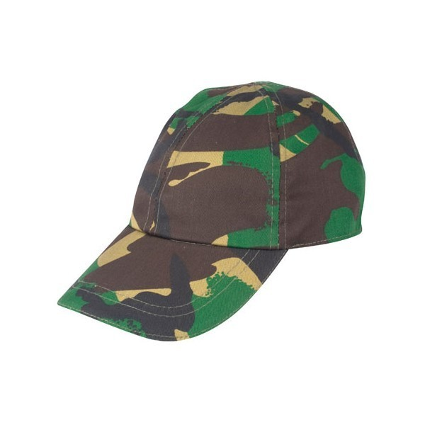 Kids Camouflage Cap
