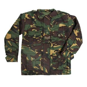 Kids Army Camouflage Jacket