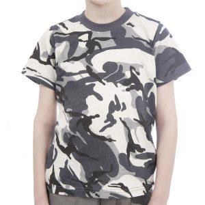 Kids Army Urban Camo T-Shirt