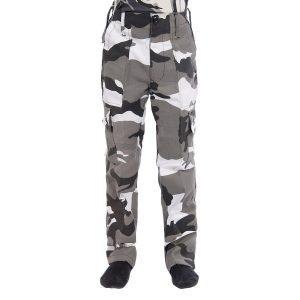 Kids Army Urban Camo Trousers
