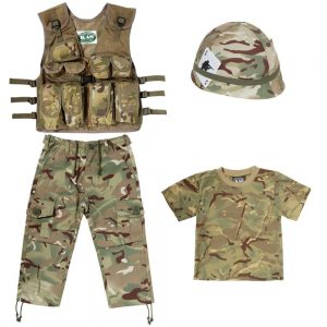 Kids Camo Clothing Set