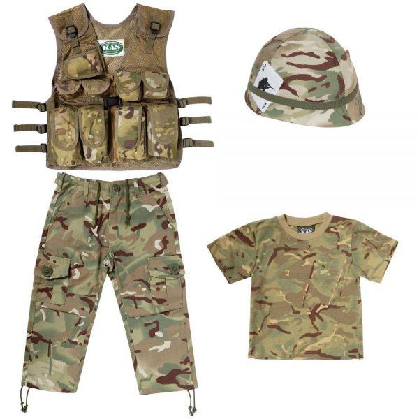 Kids Camo Clothing Set