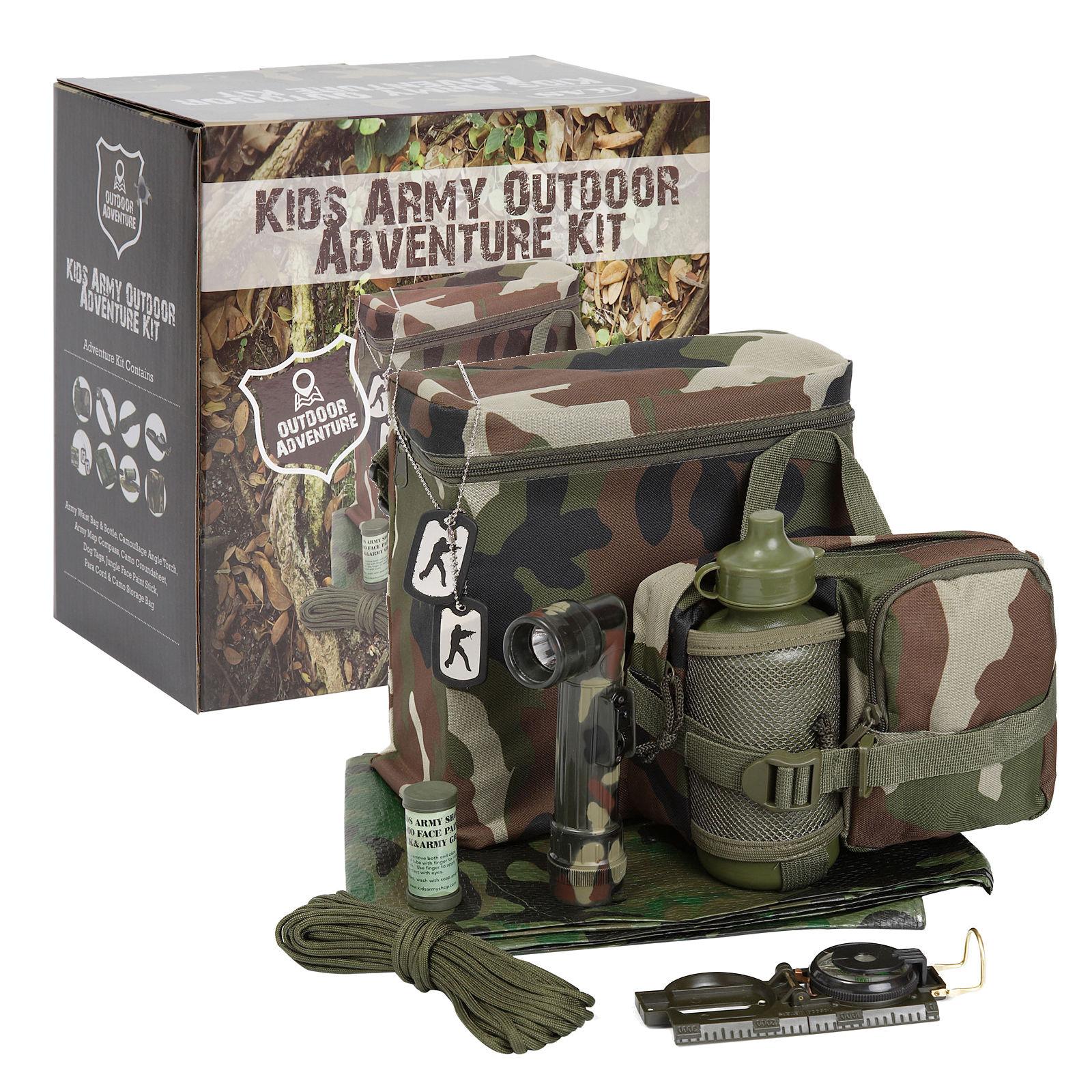 Outdoor Adventure Kit Den Making Kit Kids Army Shop