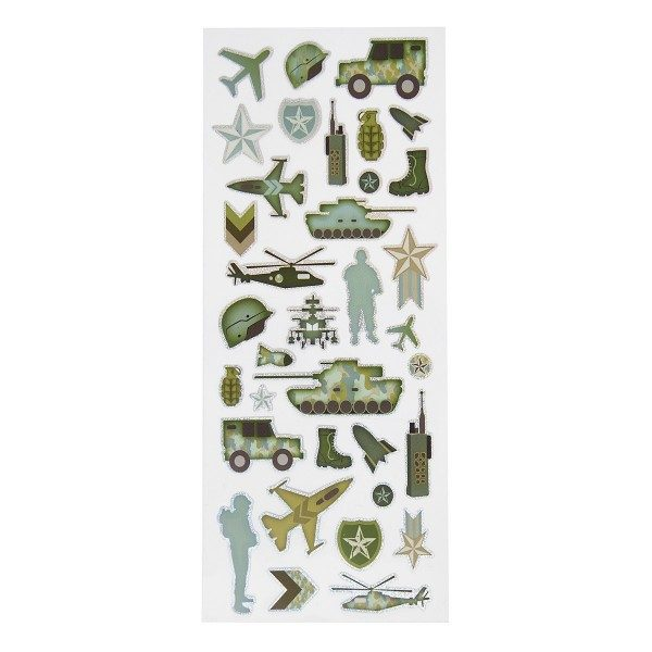 Kids Camo Army Stickers