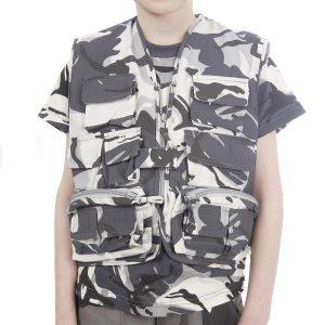 Urban Camouflage Action Vest