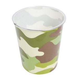 Camouflage Bedroom Bin