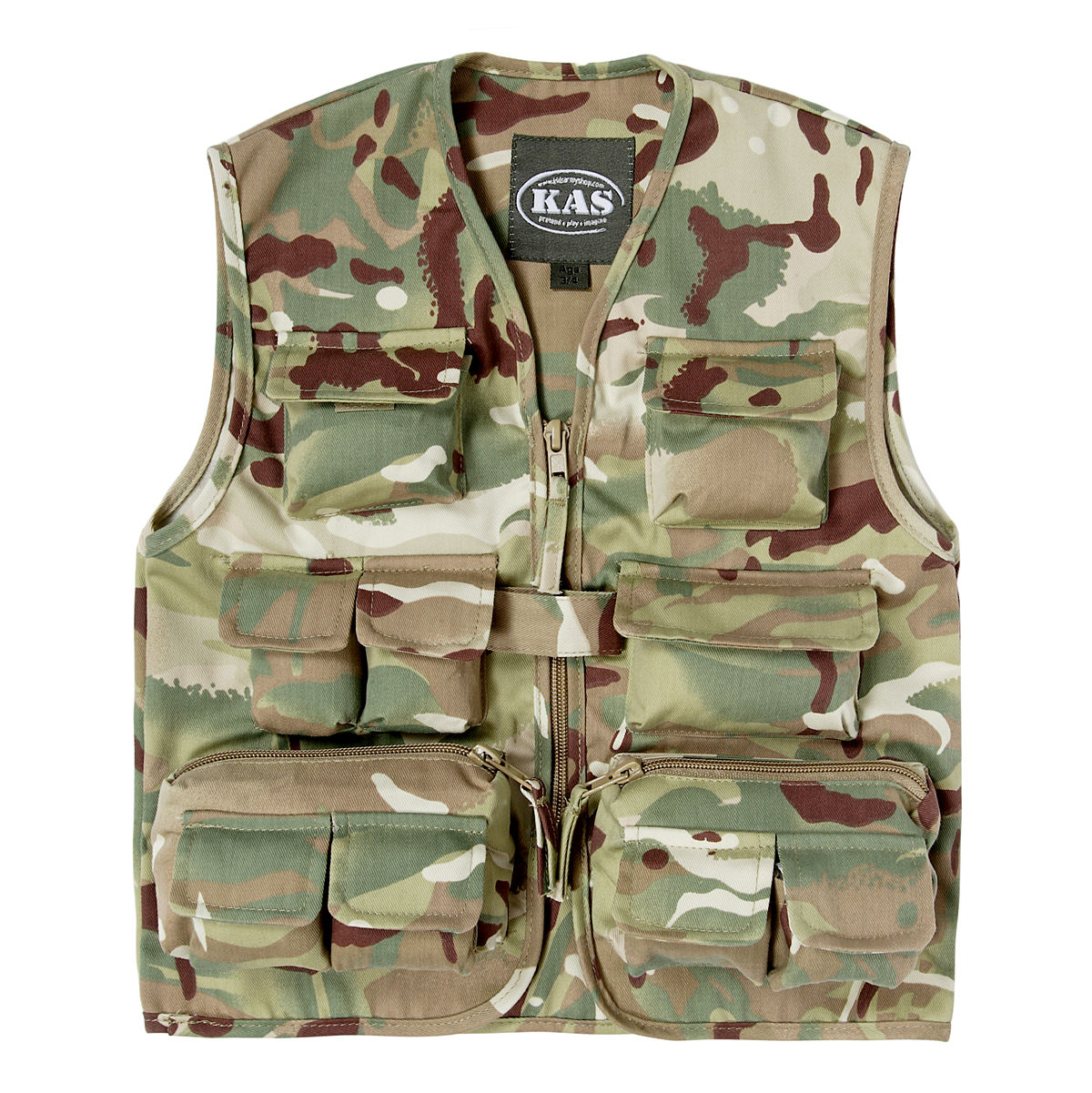 Kids Army Multi Pocket Vest
