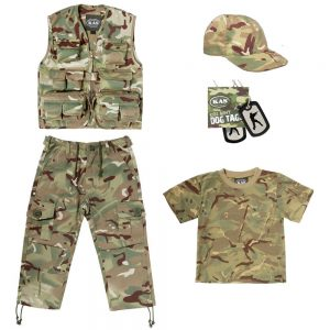 Kids Army Clothing Set