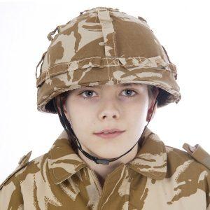 Desert Camo Helmet