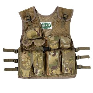 Multi Terrain Camo Assault Vest