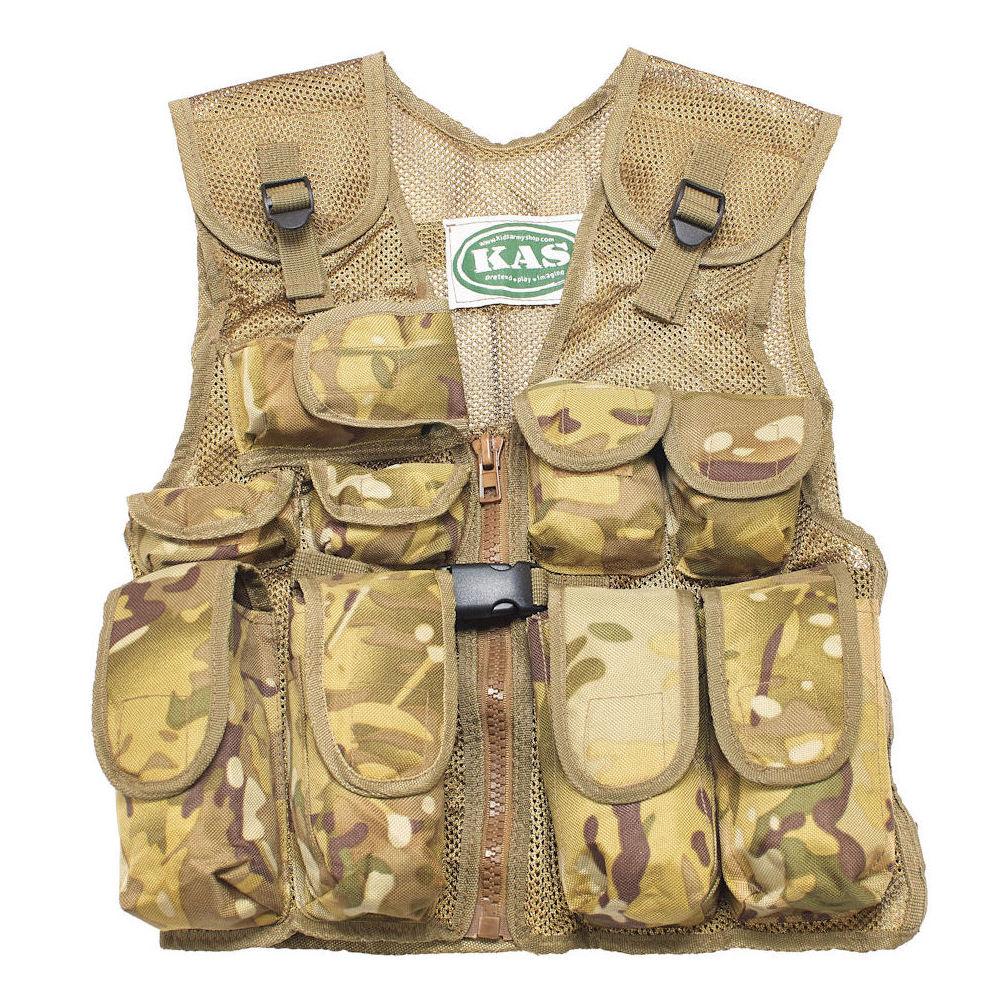 Assault Vest For Kids Mtp Camo Assault Vest Kids Army Shop