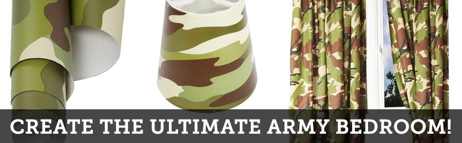 Kids Army Themed Bedrooms