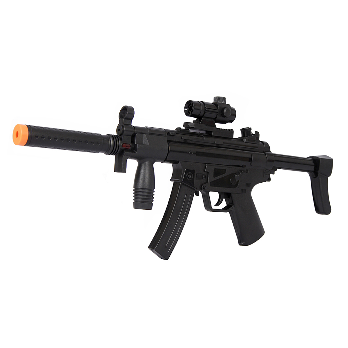 plastic machine gun