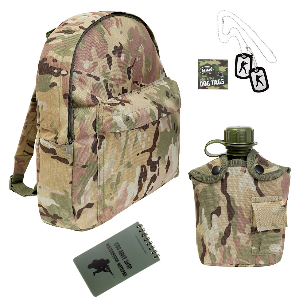 Kids Camouflage Backpack