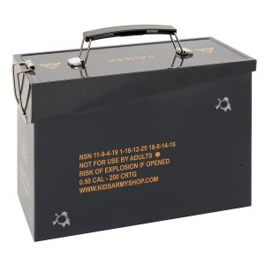 Kids Army Replica Ammo Tin