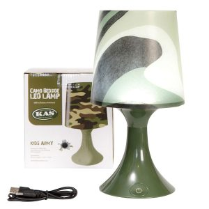 Camouflage Bedroom Lamp