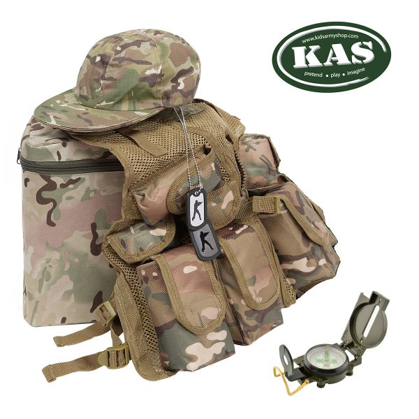 Kids Combat Vest Set