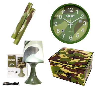 Kids Army Bedrooms