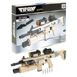 Building Bricks Desert Gun