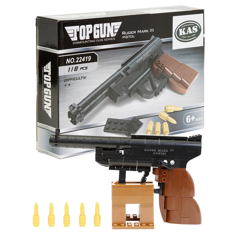 Building Bricks Ruger Pistol