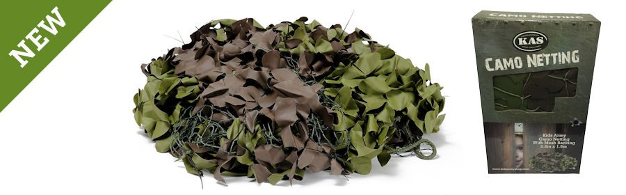 Army Style Camouflage Netting