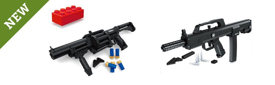 Building Bricks Machine Gun