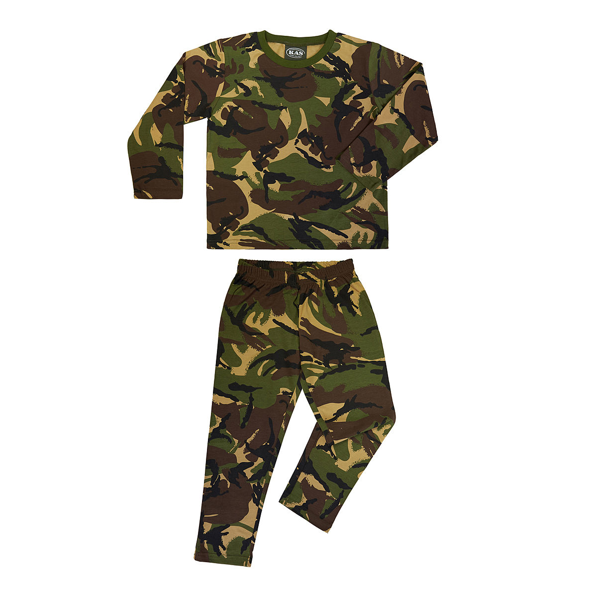 Kids Camo Pyjamas