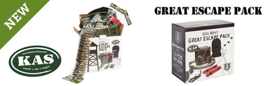 Kids Army Great Escape Pack