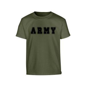 Kids Army Logo T Shirt