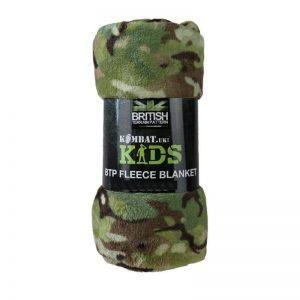 Kids Army Fleece Blanket