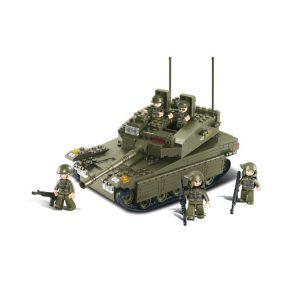 Army Building Bricks Tank