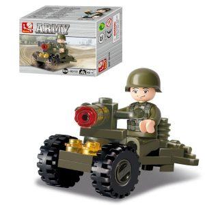 Building Bricks Soldier