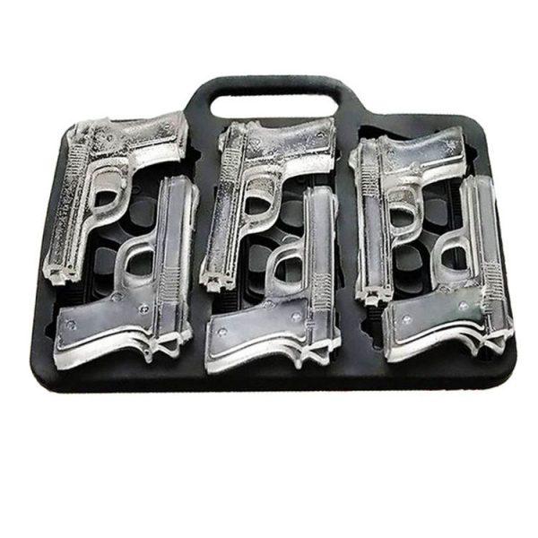 Gun Shaped Ice Cube Tray