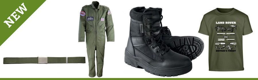 Kids Army Boots And Clothing
