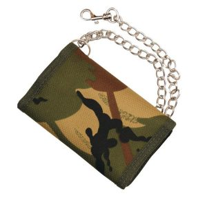 Kids Army Wallet On A Chain