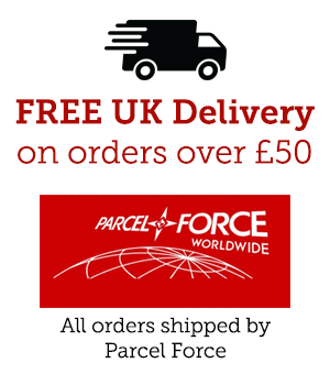 FREE UK Shipping when you spend over £50